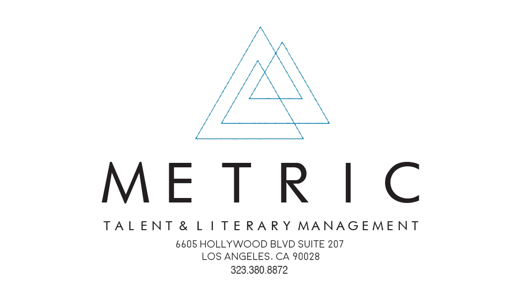Metric Talent & Literary Management Logo